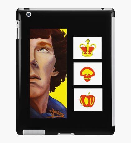 A Three-Panel Problem iPad Case/Skin