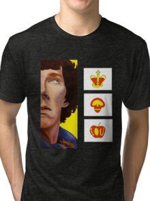 A Three-Panel Problem Tri-blend T-Shirt