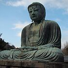Giant Bhuddah Kamakura by wilderpisces