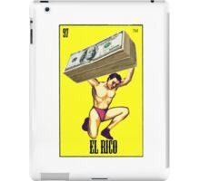 El Rico Loterìa Loteria  iPad Case/Skin
