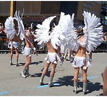 Carnival Angels Photographic Print