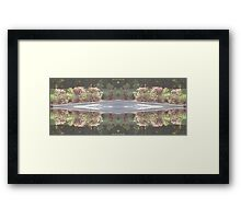 Reflections of Uniformity Framed Print