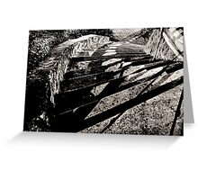 Staircase Shadows Greeting Card