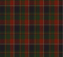 00120 Quebec, Plaid du (District) Tartan by Detnecs2013