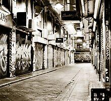 Melbourne Laneway by tony1014