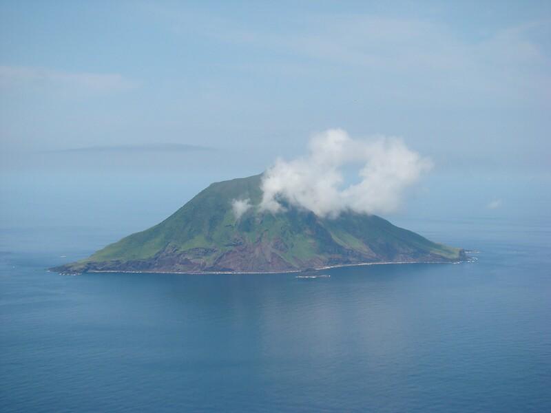 Izu Islands Japan  city photos : Volcanic Island near Hachijojima, Izu Islands, Near Tokyo, Japan