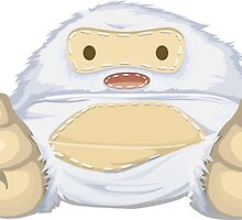 Adorable Stitched Yeti by pdgraphics