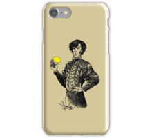 Not Sure if the Lemon is in Play?! iPhone Case/Skin