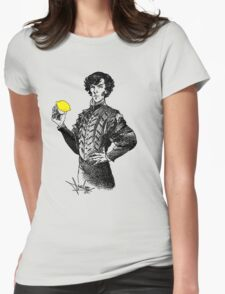 Not Sure if the Lemon is in Play?! Womens Fitted T-Shirt