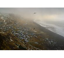 Reynisfjall, Vik, South Coast, Iceland Photographic Print