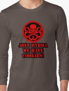 Join Hydra We Have Cookies! Long Sleeve T-Shirt