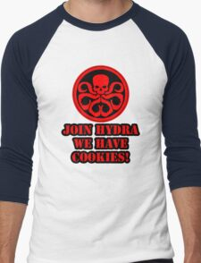 Join Hydra We Have Cookies! Men's Baseball ¾ T-Shirt
