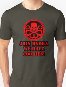 Join Hydra We Have Cookies! Unisex T-Shirt