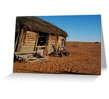 Old Andado Station, Simpson Desert Greeting Card