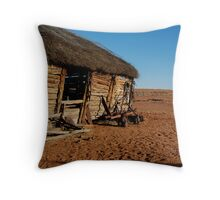 Old Andado Station, Simpson Desert Throw Pillow