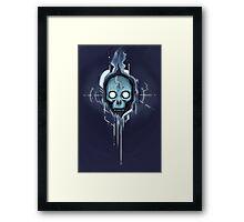 Cyberspace Gothic Framed Print