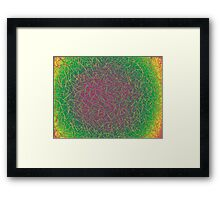 It's a Psychedelic World  Framed Print
