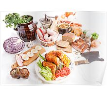 various meal type  Poster