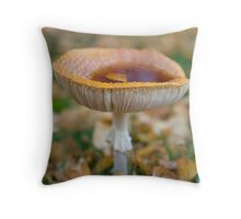 My cup runeth over Throw Pillow