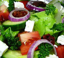 Greek Style Salad by Kathie Nichols