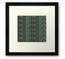 Overgrowth Matrix Framed Print