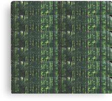 Overgrowth Matrix Canvas Print