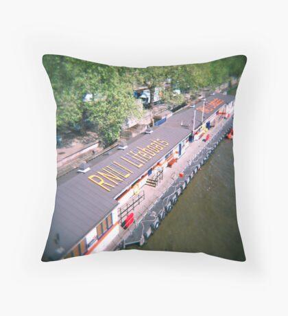 Holga 120n Throw Pillow