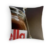 Sin of Gluttony Throw Pillow
