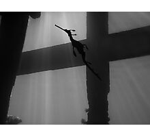 Cross to Bare Photographic Print