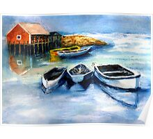 Peggy's Cove Frozen In, Chance of Snow  Poster
