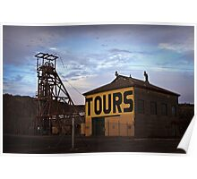 Old Tour Mine Poster