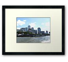 Mini New York Framed Print