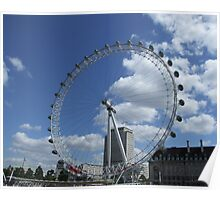 Millenium Wheel / London Eye. Poster