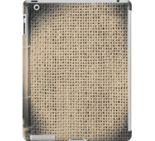 Abstract wooden frame iPad Case/Skin