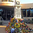 Moe RSL after Anzac Service for 2015 by Bev Pascoe