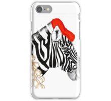 Parisian Zebra iPhone Case/Skin