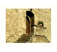 Palace of the Grand Master, Rhodes Art Print