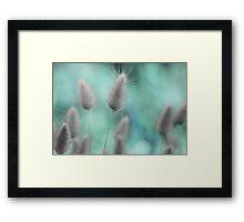 Nature's softness Framed Print