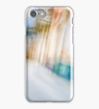 Ghostly colorful Architectures iPhone Case/Skin