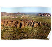 Bungle Bungles, Western Australia Poster