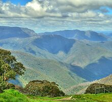 Snowy River High Country - Mount Beauty - The HDR Experience by Philip Johnson
