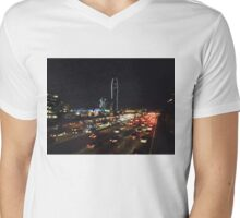 DOWNTOWN L.A. - PHOTOGRAPHY Mens V-Neck T-Shirt