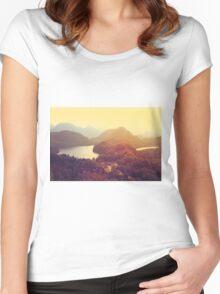 Austrian Landscape Women's Fitted Scoop T-Shirt