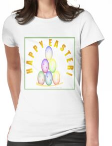 HAPPY EASTER! Womens Fitted T-Shirt