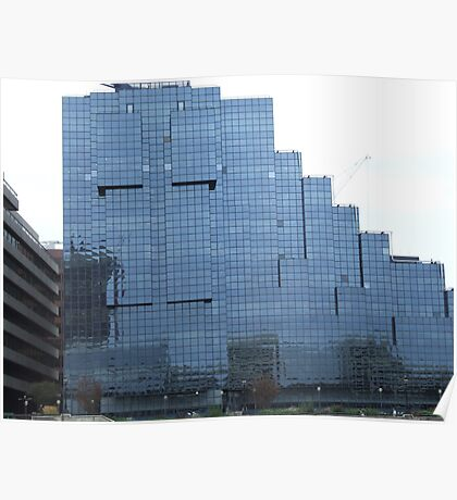 Glass Building Poster