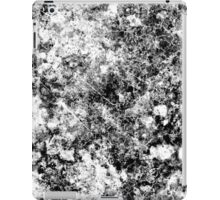 Black and white vintage marble pattern iPad Case/Skin