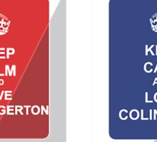 Keep Calm Mugs - Taron Egerton/Colin Firth Sticker