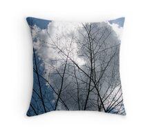 Cloud Tree Throw Pillow