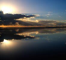 Bay Reflection by David Cash