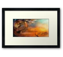The Low Plain of Decision Framed Print